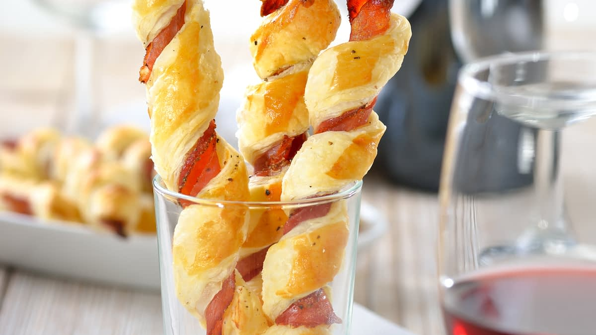 'Tis the Season for… Bacon Pastry Twists with the Million Dollar Chef, Walter Martino
