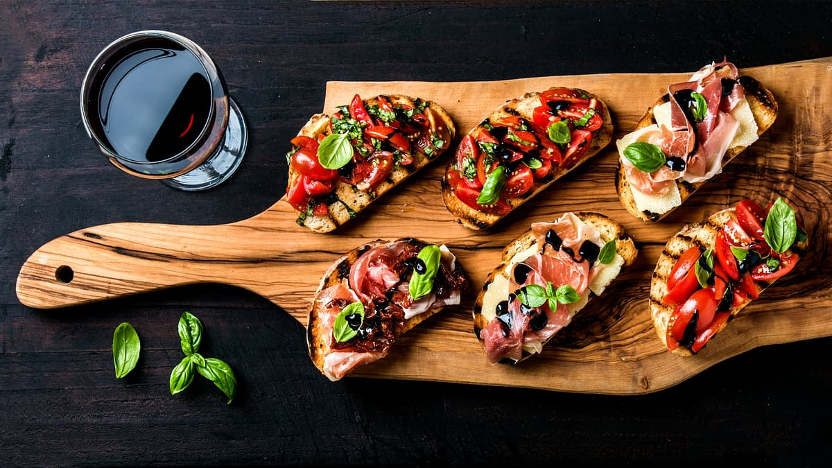 'Tis the Season for… Bruschetta Party Bar with the Million Dollar Chef, Walter Martino