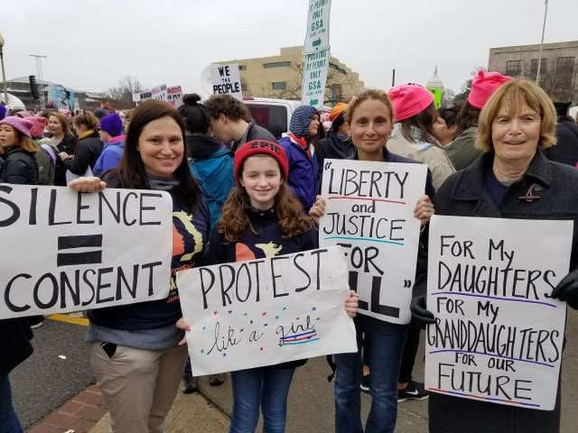 Interview with Three Generations of Women (Women's March, Washington, DC)
