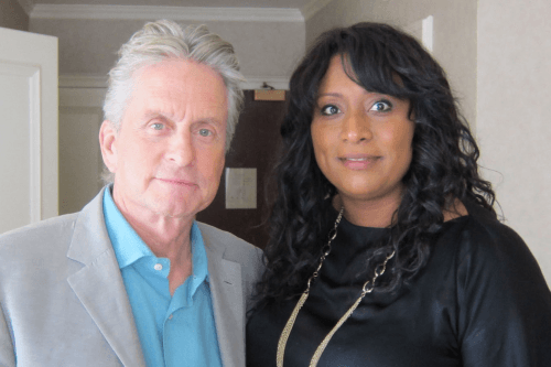 Michael Douglas and Barbara